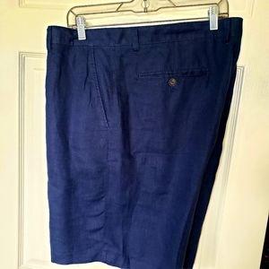 Tasso Elba (Macys) 40 100% linen shorts